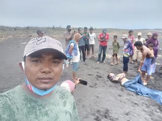 Mayat Mengapung di Pantai Talangsari Kepanjen