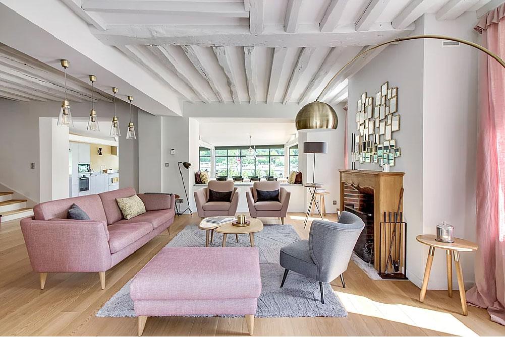 La trasformazionne totale di una tradizionale casa di campagna