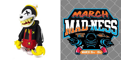 March Mad-Ness 2021: City Mouse Mad Spraycan Mutant Vinyl Figure by Kmilo x MAD x Martian Toys