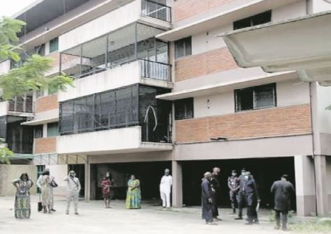 EFCC hands over seized Diezani's building for use as isolation centre