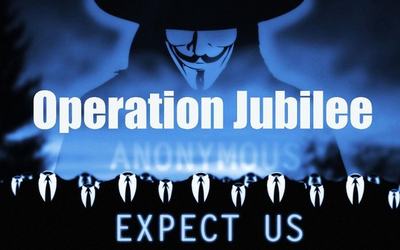 Anonymous hacks 20 million accounts to promote Operation Jubilee
