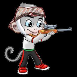 Logo dan Lambang Cabang Olahraga PON Jabar 2016 Menembak