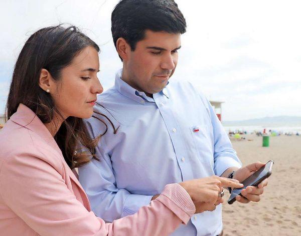 Lanzan aplicación para detectar acceso a las playas