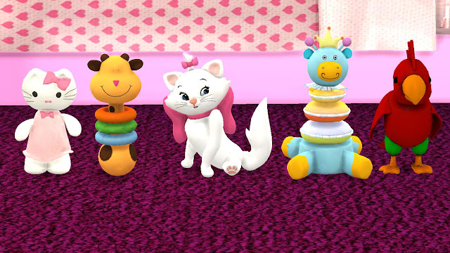 sims 4 kids custom content (cc) toy set