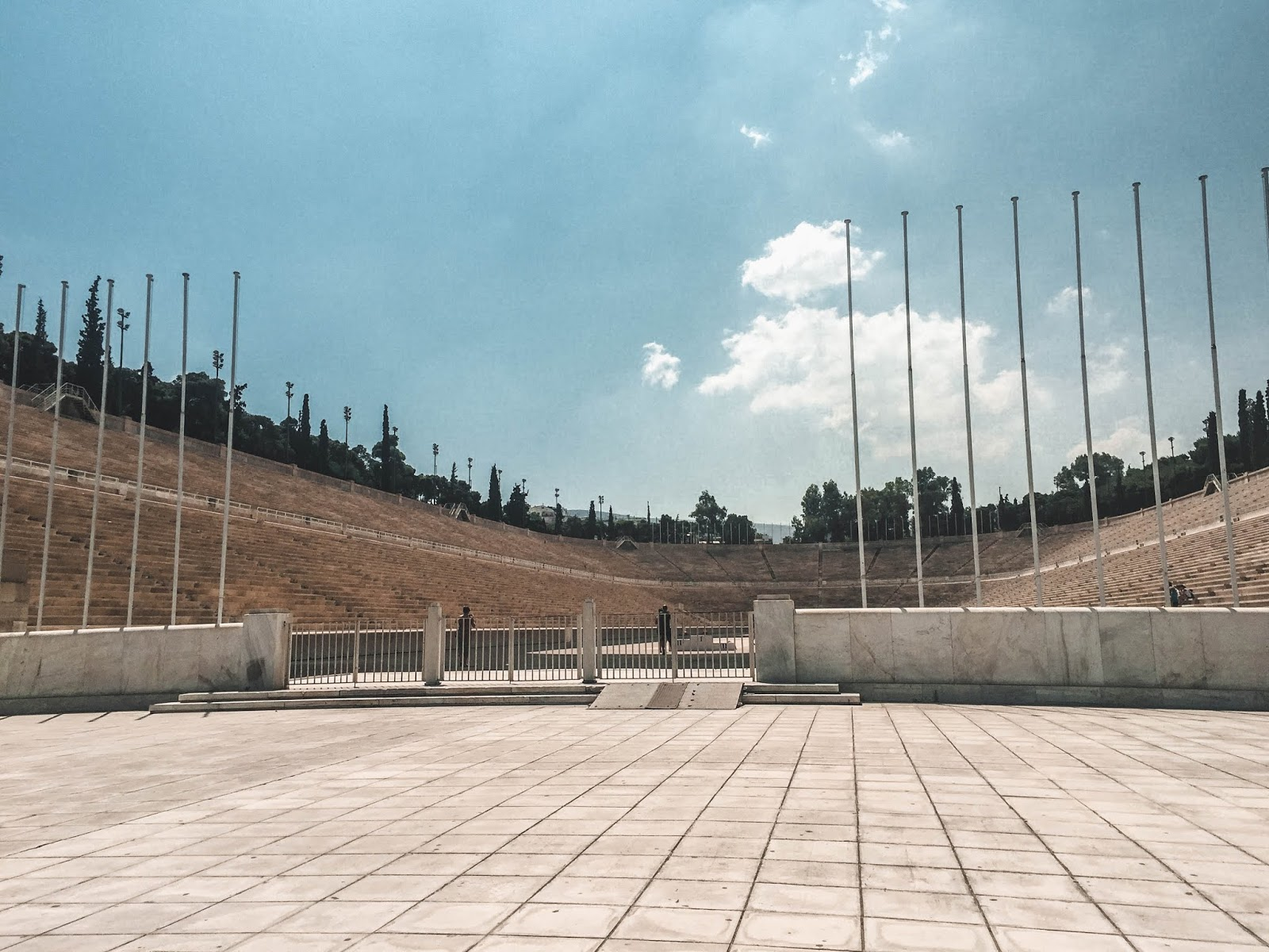 Athens Greece Stadium