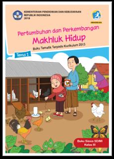 download gratis buku tematik kelas 3 tema 1