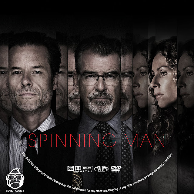 Spinning Man DVD Label