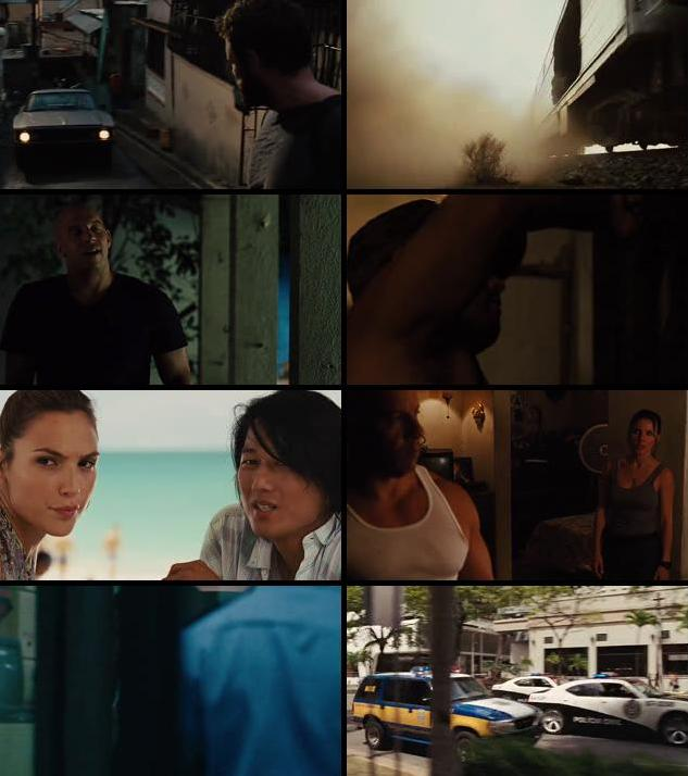 Fast Five 2011 Dual Audio Hindi 480p BluRay