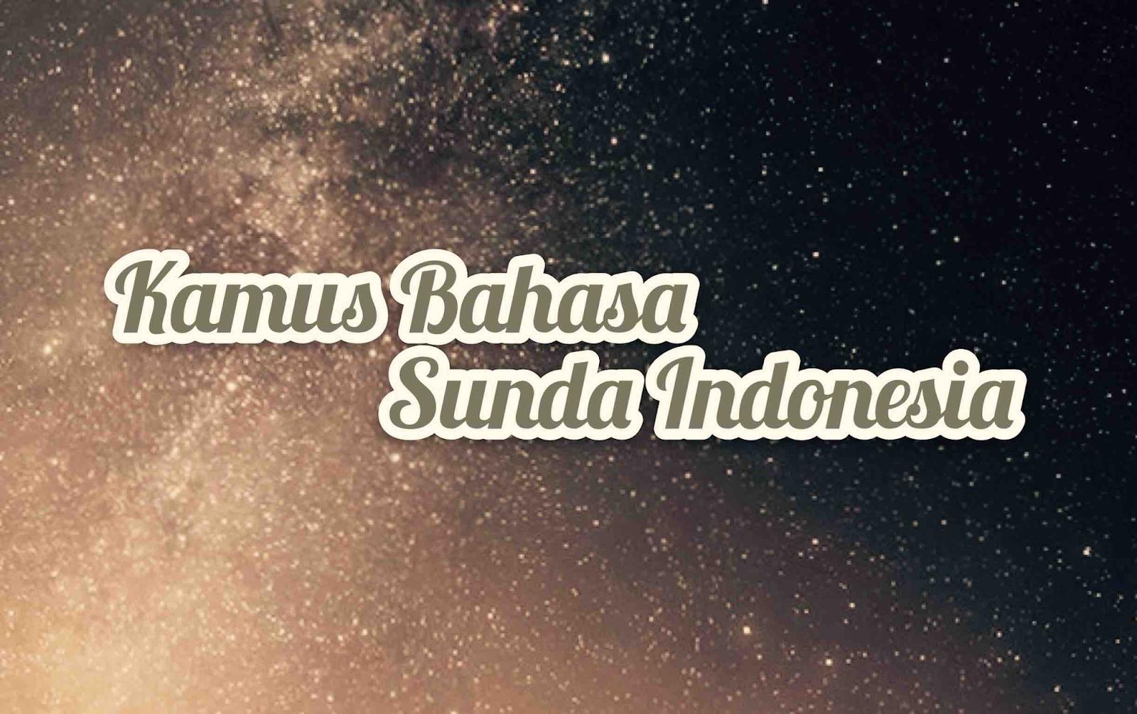 Kamus Sunda Abjad B Ngawalon