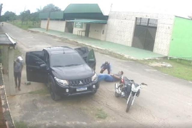 Irmãos metralha' roubam R$ 90 mil do diretor geral do hospital de Coari e são procurados pela polícia