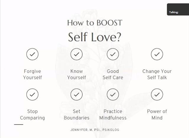 cara meningkatkan self love