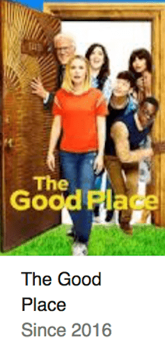 Best TV Shows The Good Place