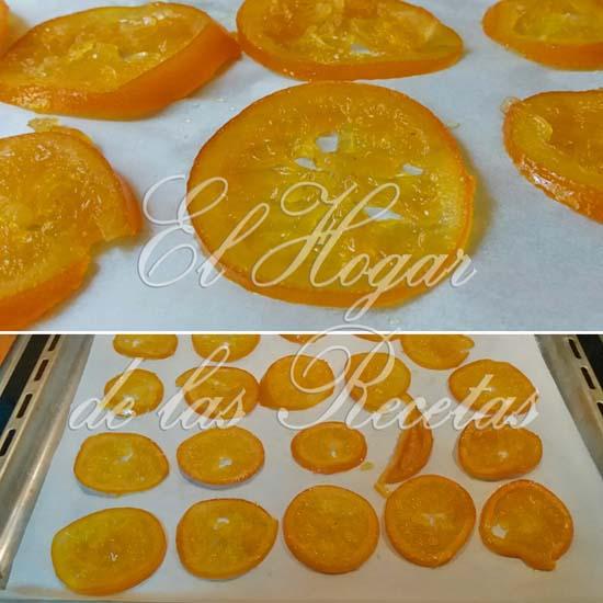 Naranja Confitada Casera lista para usar