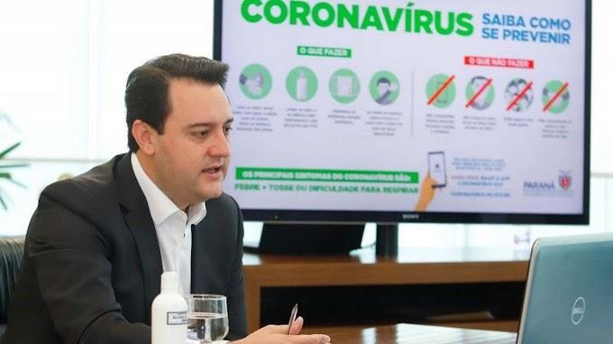 *Paraná aplicará multa pesada a quem não usar máscara