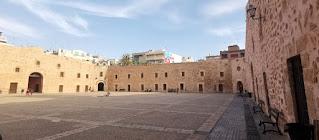 Castillo de Santa Pola, provincia de Alicante.