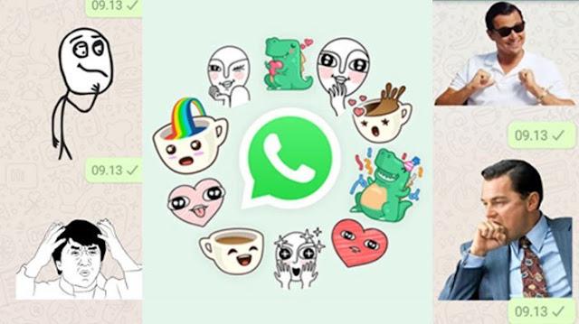 Cara membuat stiker foto sendiri di WhatssApp