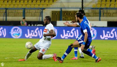 ملخص واهداف مباراة الزمالك وسموحة (2-1) كاس مصر