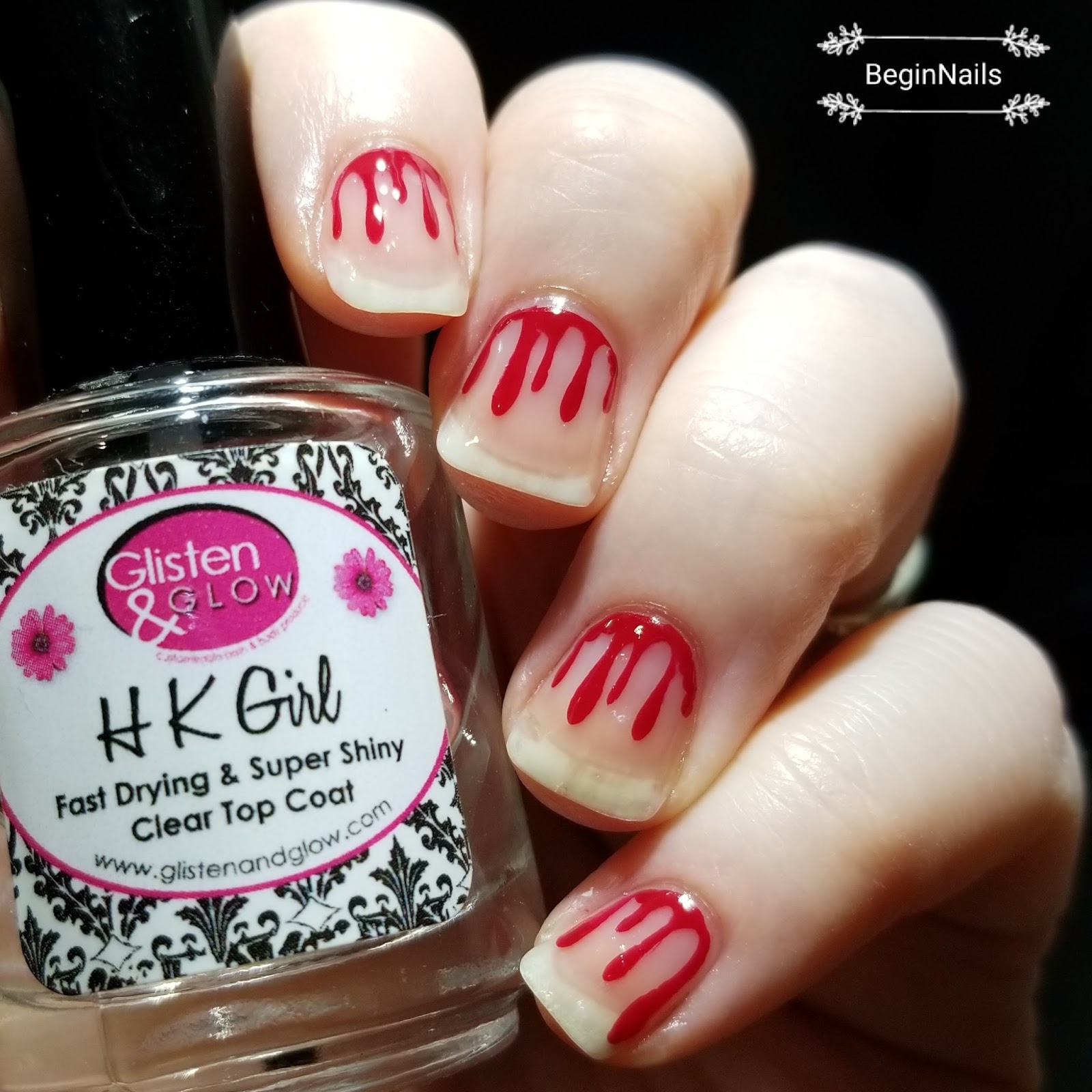 Lets begin nails 26 great nail art ideas halloween with i placed the vinyls down and painted with little red dress i added a top coat these were so easy and fast to get done i love them prinsesfo Choice Image