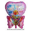 Balon Foil Karakter Hello Kitty Kupu-Kupu