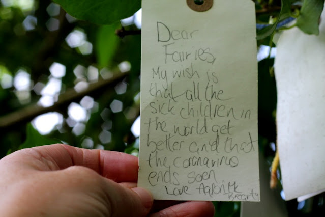 Message on Fairy Tree Oakfield Park