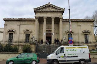 Palacio de Justicia de Perpiñán.