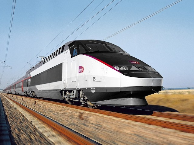 Trem TGV Nord Paris - Londres