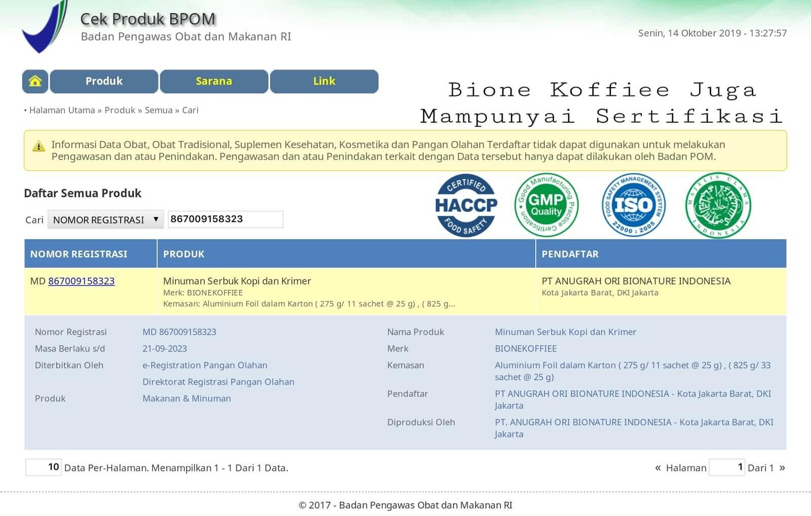 Bione Koffiee : Kopi Herbal Untuk Kesehatan Meningkatkan Stamina Pria Dan Wanita