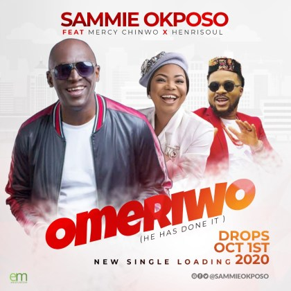 Sammie Okposo Set To Drop New Single Feat. Mercy Chinwo & Henrisoul