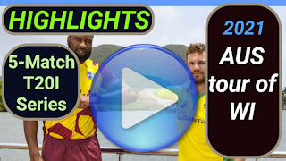 West Indies vs Australia T20I Series 2021