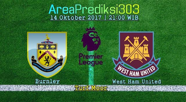 Prediksi Skor Burnley vs West Ham 14 Oktober 2017