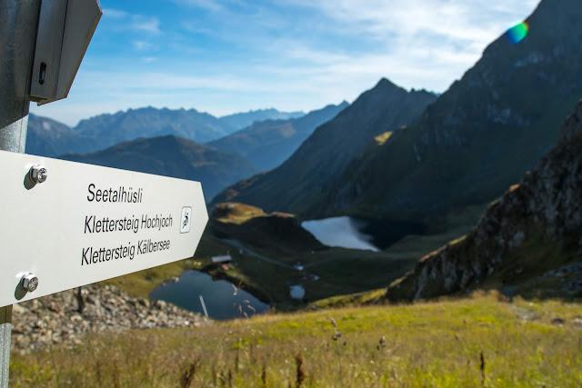 Seetalwanderung und Klettersteig Hochjoch  Silvretta Montafon 03