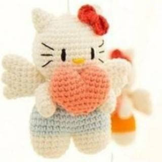 PATRON HELLO KITTY AMIGURUMI 27596