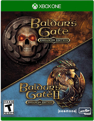 Baldurs Gate Enhanced Edition Game Cover Xbox One
