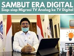 Sambut Era Digital! Siap-siap Migrasi TV Analog ke TV Digital
