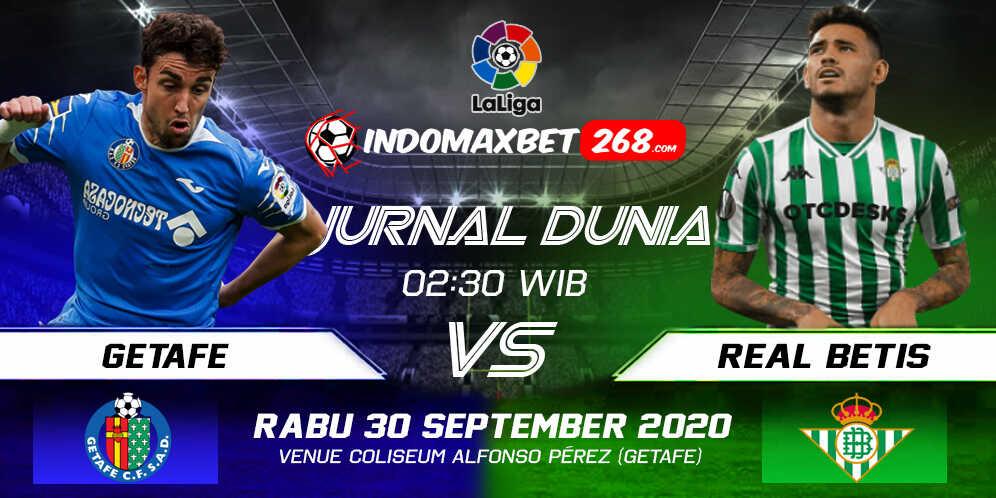 Prediksi Getafe Vs Real Betis 29 September 2020 Pukul 02.30 WIB