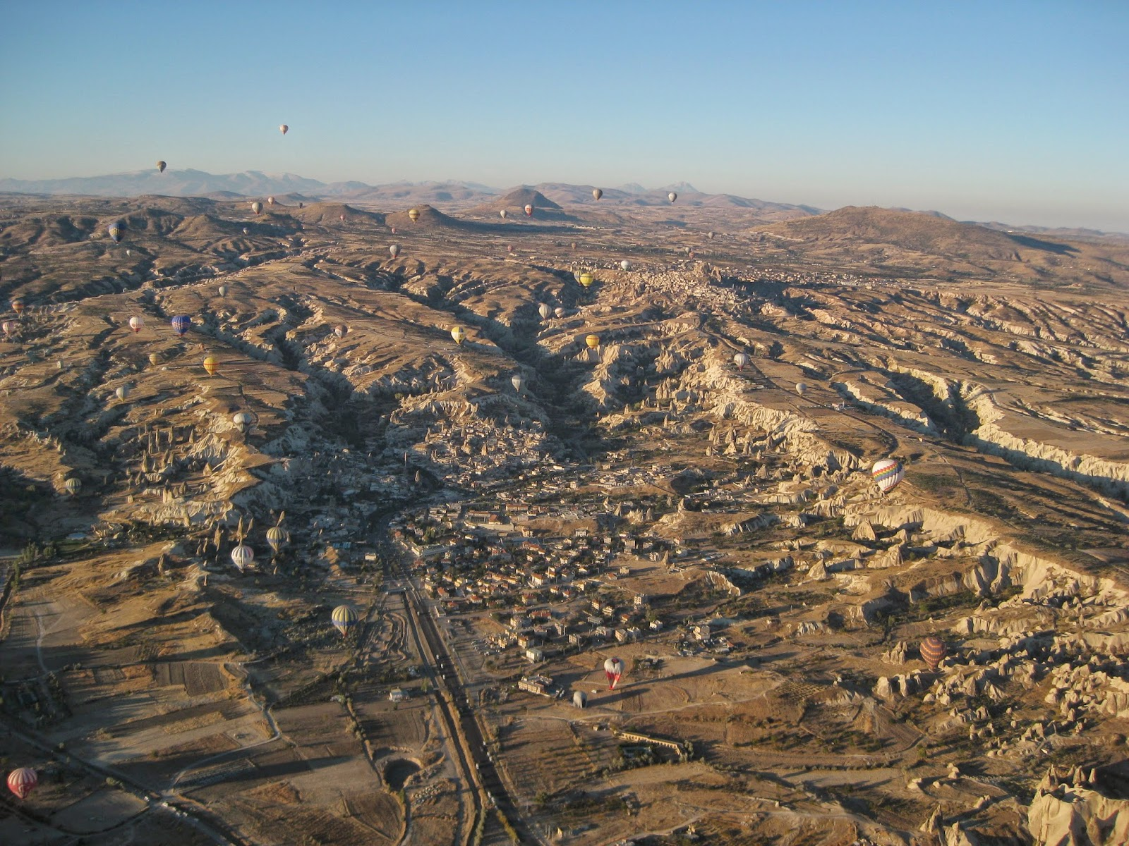 Cappadocia - The terrain looks so interesting from this height