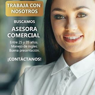 Oferta de Trabajo y Empleo en Cali como Asesor Comercial