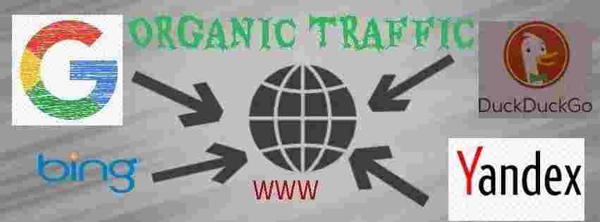 what is organic traffic