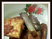 Resep Sambal Terong dan Tahu ( Eggplant And Tofu Chili Recipe )