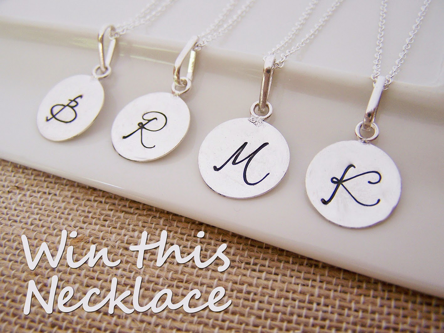 Cy design studio custom necklace giveaway for Just my style personalized jewelry studio