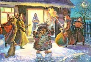 Колядки в Рождественский сочельник
