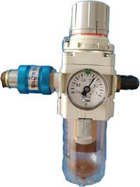 Air regulator and filter