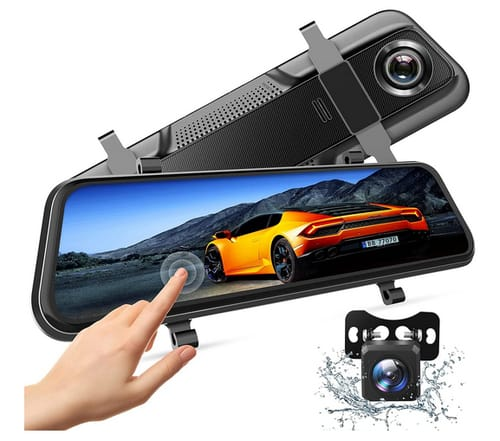 VANTΟP H609 Dual 1080P Mirror Dash Cam
