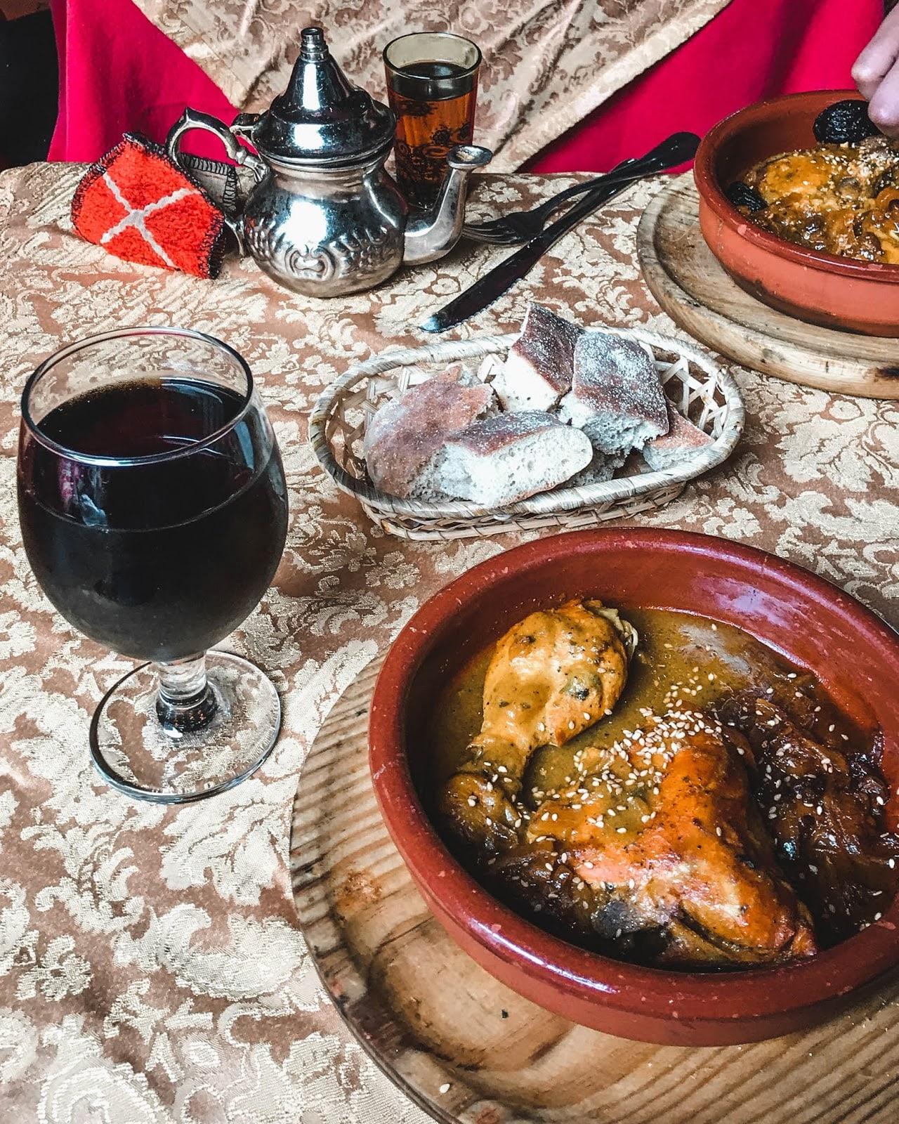 Granada Spain food