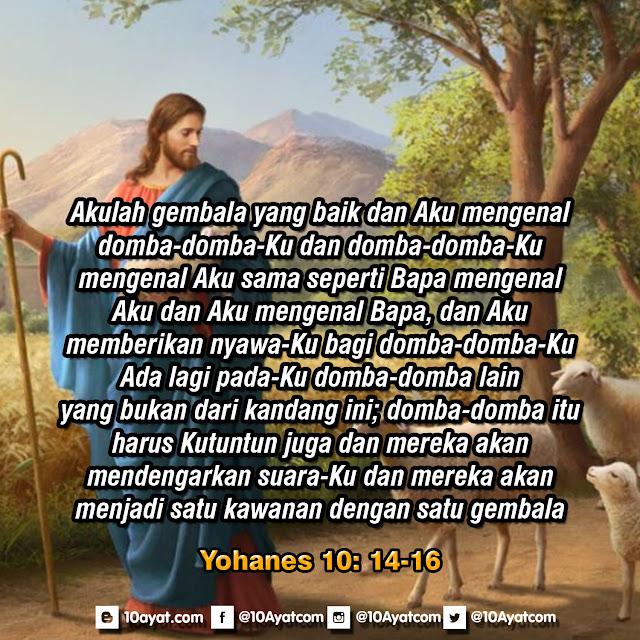 Yohanes 10: 14-16