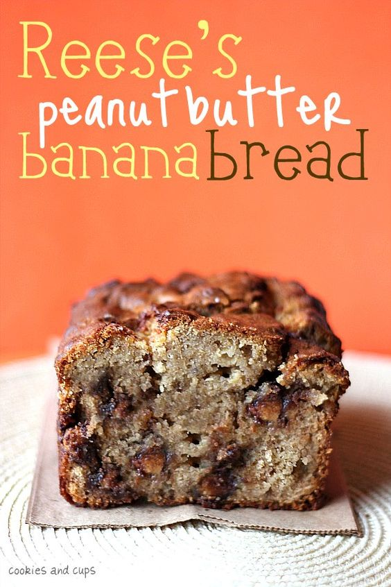 Reese's Peanut Butter Banana Bread, Making this tonight!