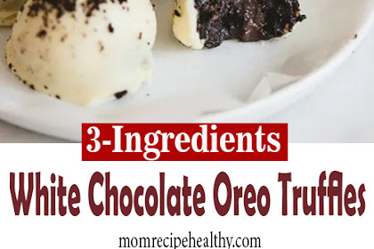3-Ingredient White Chocolate Oreo Truffles {+video}