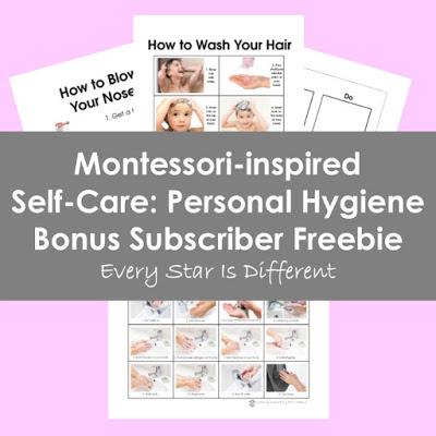 Self-Care: Personal Hygiene Bonus Subscriber Freebie