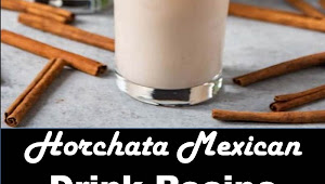 #Best #Drink #Horchata #Mexican #Drink #Recipe