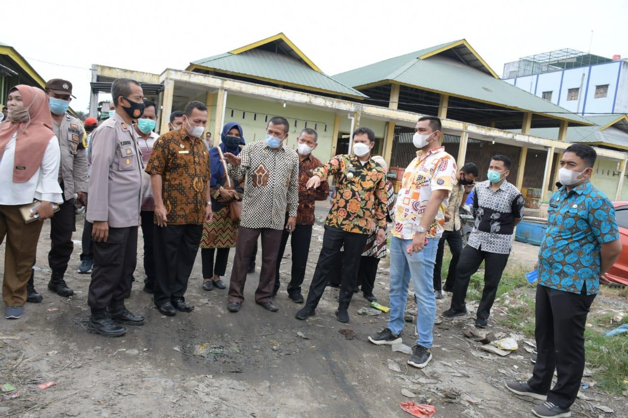 Wabup Sergai Adlin Tambunan Tinjau Pasar Rakyat, Sorot Beberapa Aspek